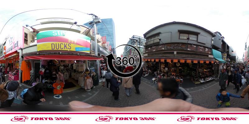 竹下通り-360度写真19