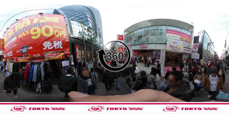 竹下通り-360度写真21