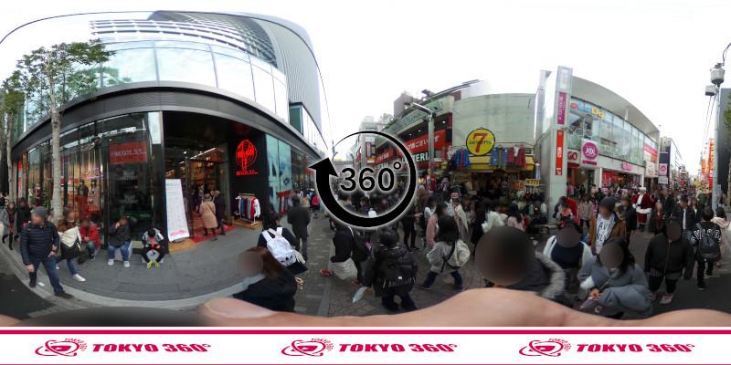 竹下通り-360度写真22