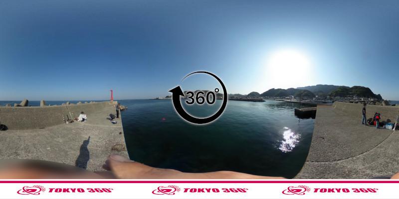 金谷港-360度写真03