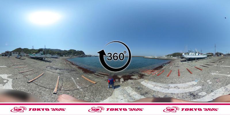金谷港-360度写真04