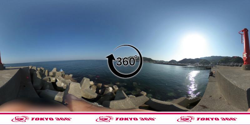 金谷港-360度写真06