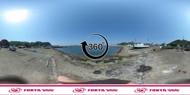 金谷港-360度写真08