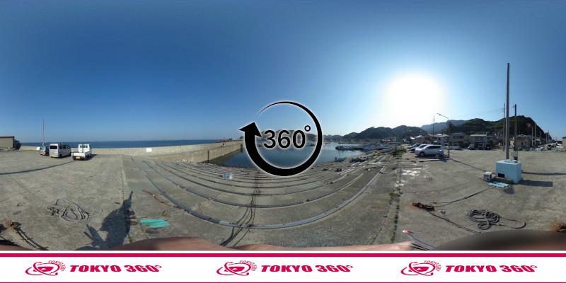 金谷港-360度写真09