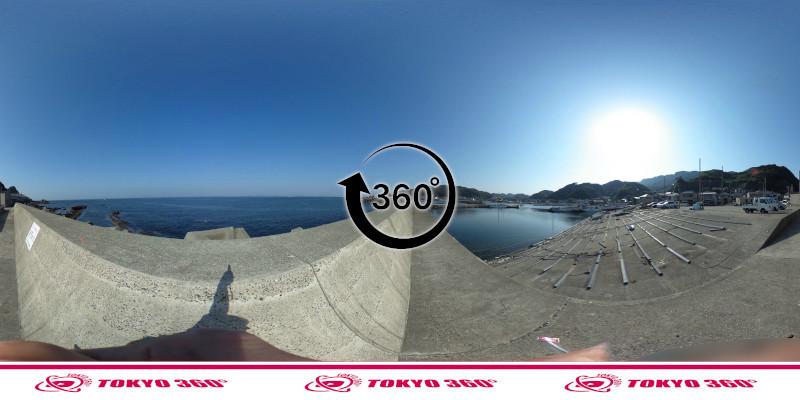 金谷港-360度写真10