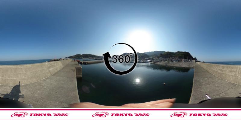 金谷港-360度写真11