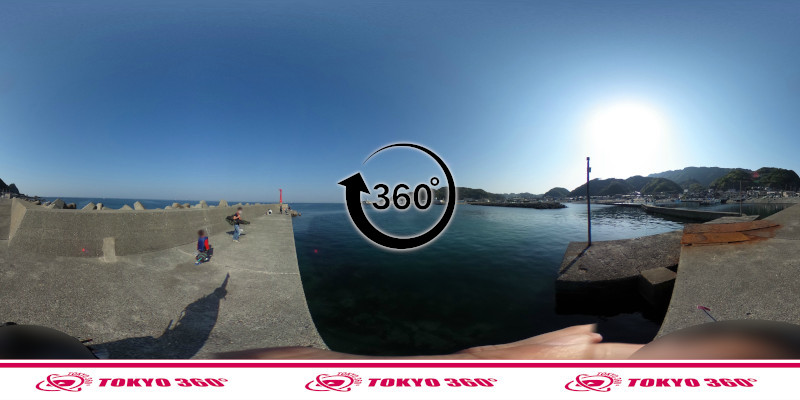 金谷港-360度写真12