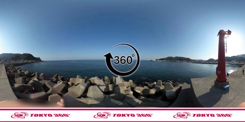 金谷港-360度写真13