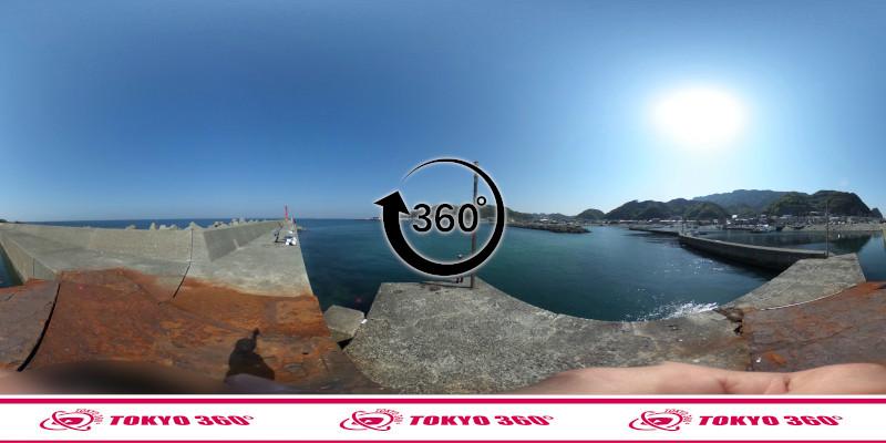 金谷港-360度写真14