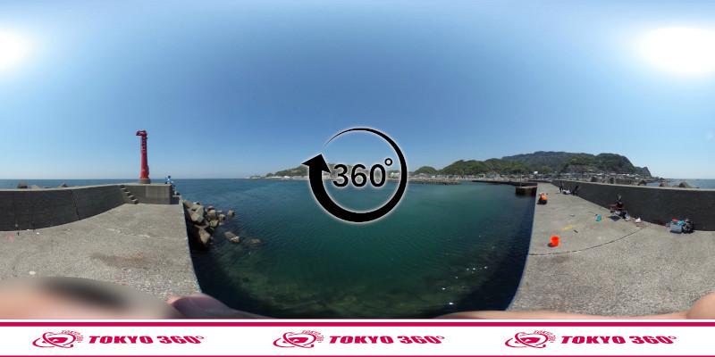 金谷港-360度写真15