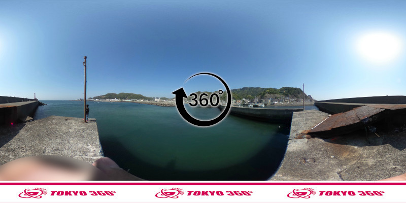 金谷港-360度写真16