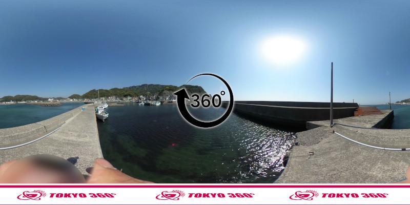 金谷港-360度写真17
