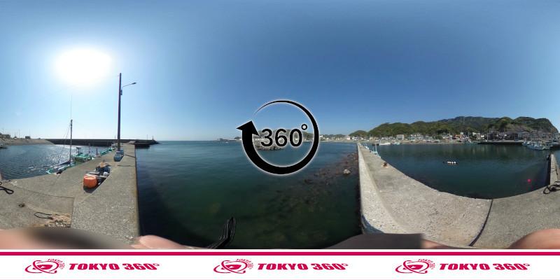金谷港-360度写真18
