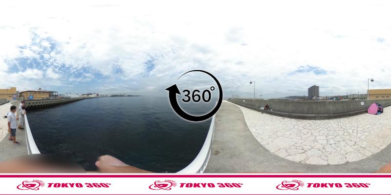 三春町岸壁-360度写真03