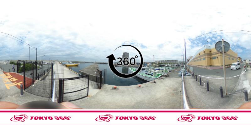 三春町岸壁-360度写真05