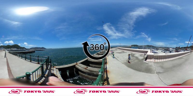 葉山港-360度写真03