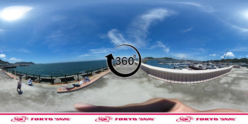 葉山港-360度写真04