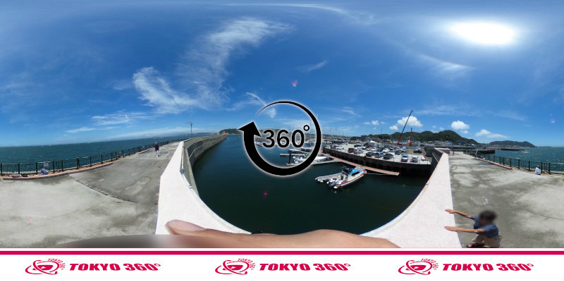 葉山港-360度写真06