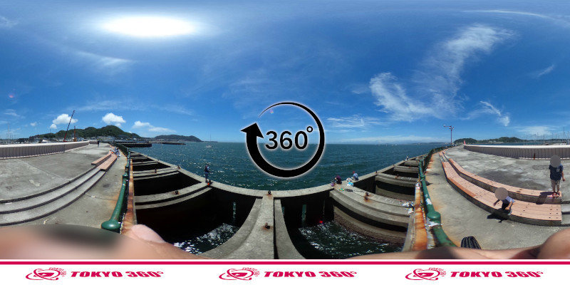 葉山港-360度写真07