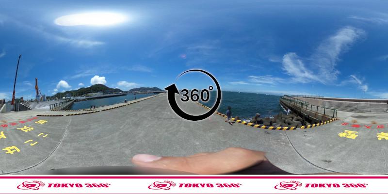 葉山港-360度写真11