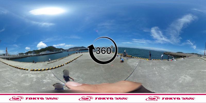 葉山港-360度写真12