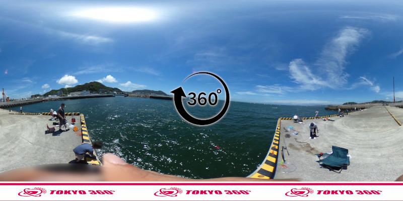 葉山港-360度写真13