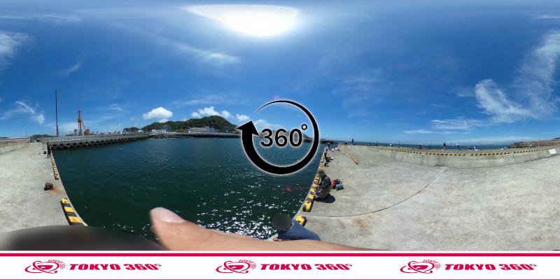 葉山港-360度写真15