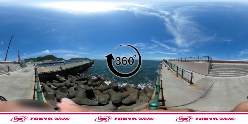 葉山港-360度写真17