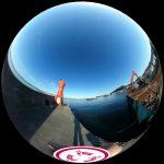 那古船形港の釣り場を360度写真レポート。広くてファミリーフィッシングにも最適!
