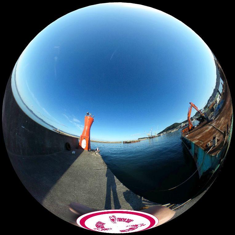 船形港360度写真