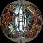 平和通り商店街を360度写真レポート。一味違った沖縄の観光スポット