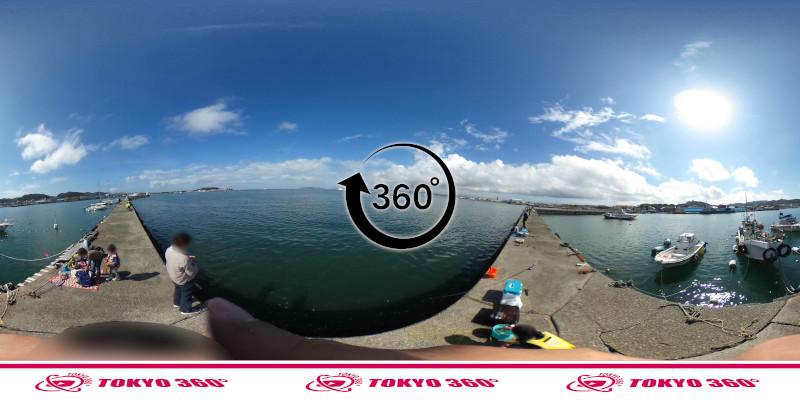 築港堤防_360度写真03