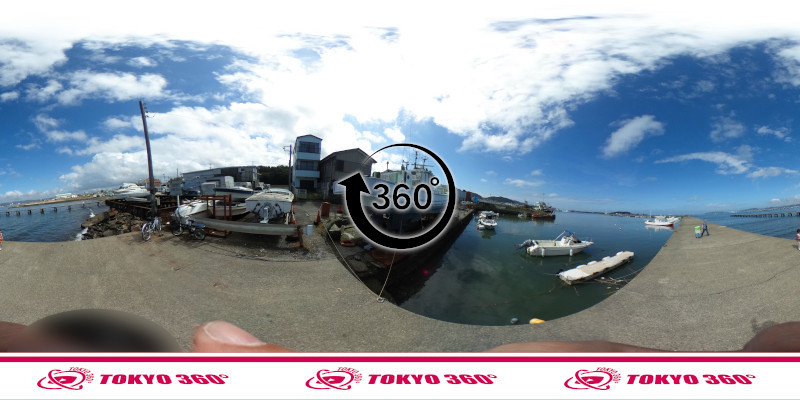 築港堤防_360度写真06