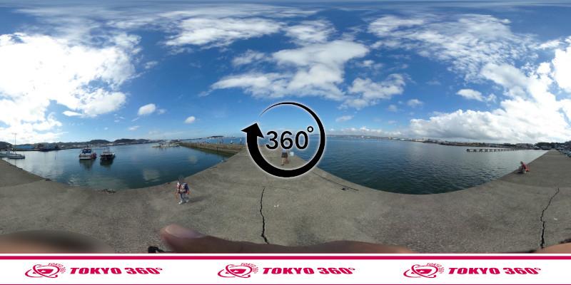 築港堤防_360度写真09