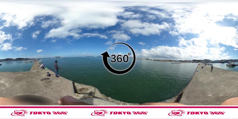 築港堤防_360度写真10