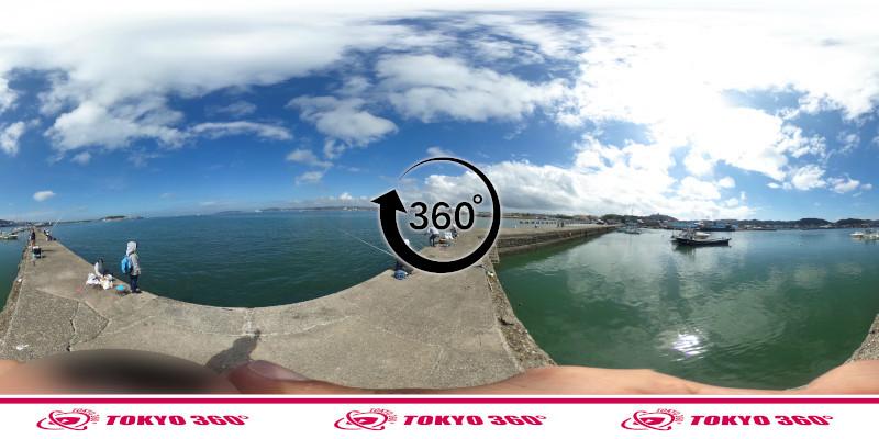 築港堤防_360度写真11