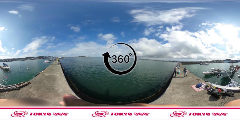 築港堤防_360度写真12