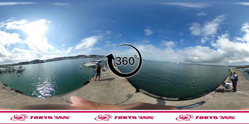 築港堤防_360度写真13