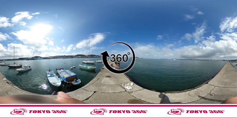 築港堤防_360度写真