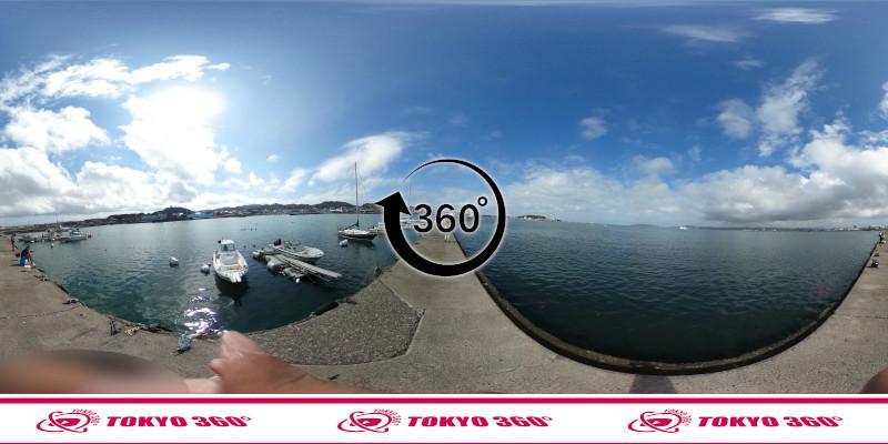 築港堤防_360度写真20