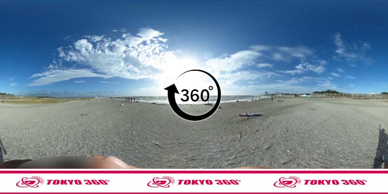 検見川浜突堤_360度写真11
