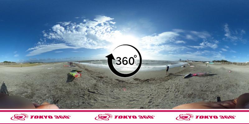 検見川浜突堤_360度写真12