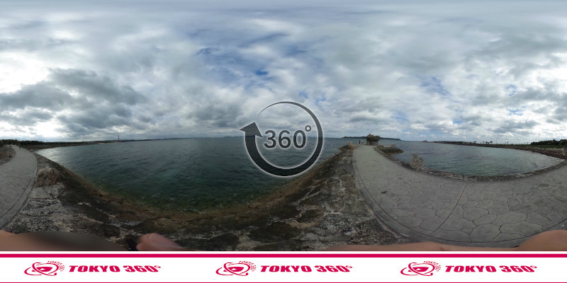 海中道路-360度写真