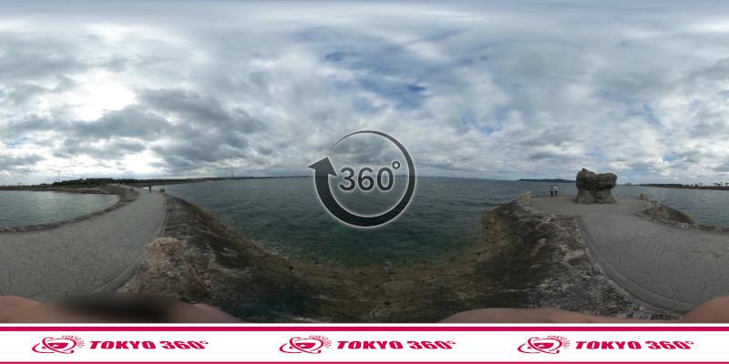 海中道路-360度写真05