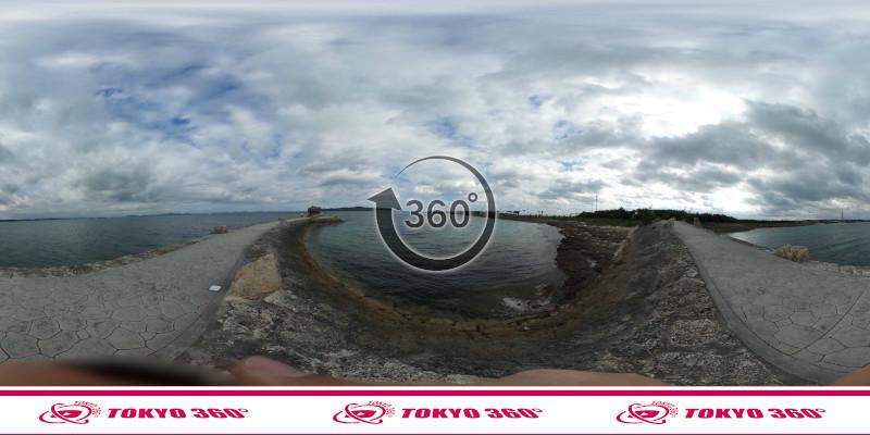 海中道路-360度写真07