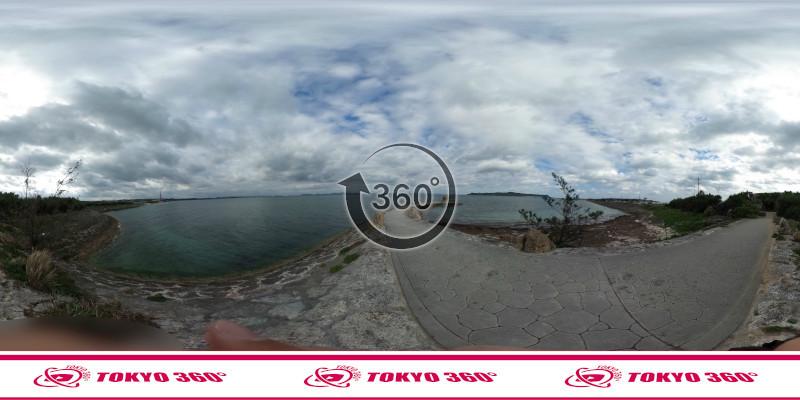 海中道路-360度写真08