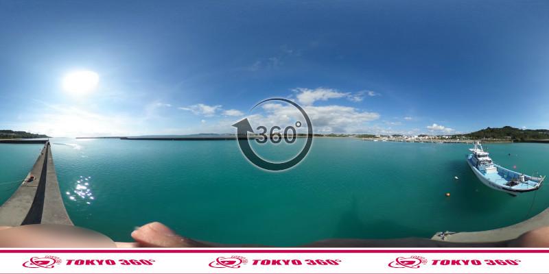 海中道路-360度写真14