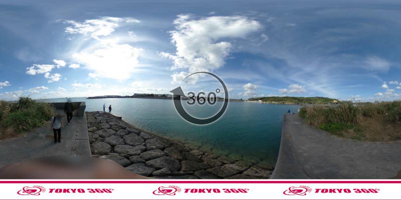 海中道路-360度写真15
