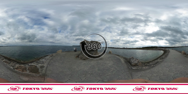 海中道路-360度写真17