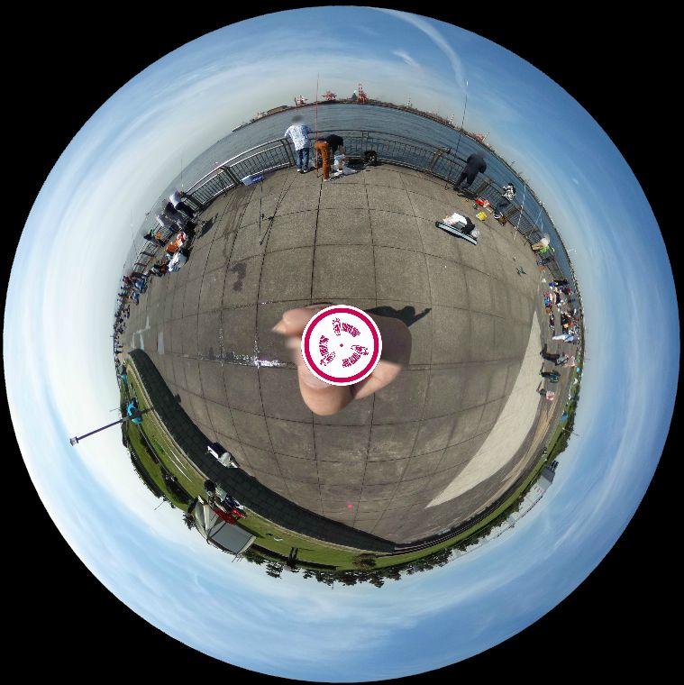 東扇島西公園-360度写真